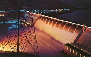 WA - Grand Coulee Dam at Night