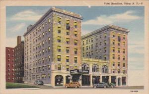 New York Utica Hotel Hamilton Curteich
