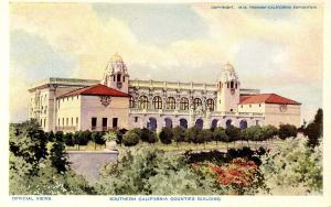 CA - San Diego. 1915 Panama-California Expo. Southern CA Counties Bldg