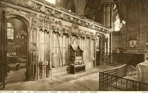 UK - England, Westminster Abbey, The Confessor's Chapel - 15th Century Stone ...