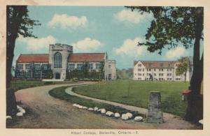 BELLEVILLE, Ontario , 1938 ; Albert College