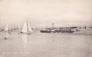 The SOLENT , Isle of Wight, England, United Kingdom, 00-10s ; Sail Boats & St...