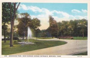 Brookside Park near Bunker Avenue Entrance - Meriden CT, Connecticut - WB