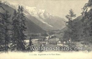 Mont Blanc Swizerland, Schweiz, Svizzera, Suisse Argentiere  Argentiere