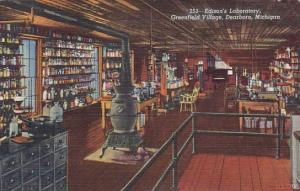 Edison's Laboratory Greenfield Village Dearborn Michigan 1945