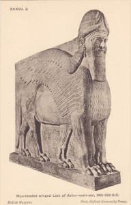 Man-Headed winged Lion of Ashur-nasir-pal , 00-10s