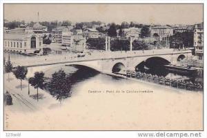 Pont de la Coulouvreniere, GENEVE, Switzerland, 1900-1910s