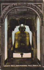 Liberty Bell, Independence Hall, Philadelphia, Pennsylvania, PU-1914
