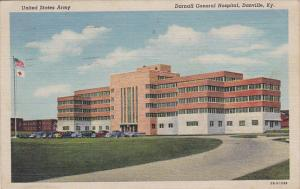 Kentucky Danville Darnall General Hospital United States Army 1935 Curteich