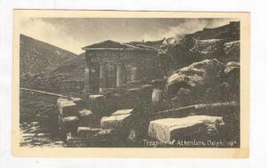 Treasury of Athenians, Delphi, Greece, 1910s