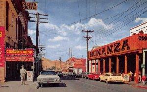 VIRGINIA CITY, NV Bonanza Saloon Nevada Street Scene Vintage Postcard ca 1960s