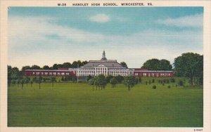 Handley High School Winchester Virginia