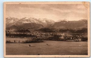 *Luftkurort Sonthofen Village Town View Germany Vintage Postcard C52