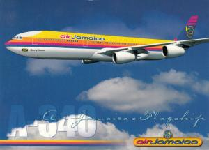 AirJAMAICA Jet Airplane , 80-90s