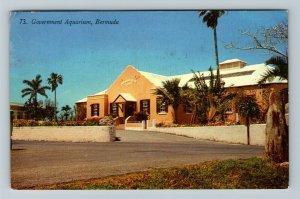 Bermuda, Government Aquarium Chrome c1960 Postcard