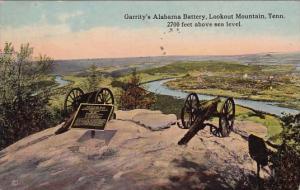 Garritys Alabama Battery Lookout Mountain Tennessee 1973