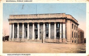 Public Library Montreal 1932