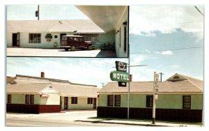 City Center Motel, Burns, OR Postcard *6L(2)19