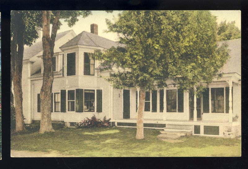 Plymouth, Vermont/VT Postcard, President Calvin Coolidge Homestead, Oath taken