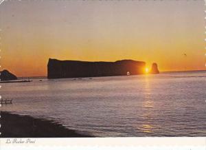 Canada Sunrise Le Rocher Perce Quebec