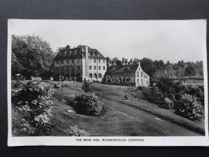 Gloucestershire THE BEAR INN Rodborough Common STROUD - Old RP Postcard