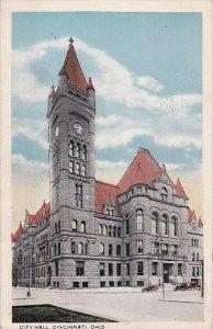City Hall Cincinnati Ohio 1918