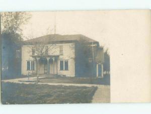 Old rppc BUILDING SCENE Architecture Postcard AB1136