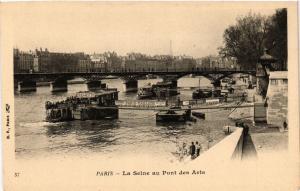 CPA Paris 6e Paris-La Seine au Pont des Arts (312246)