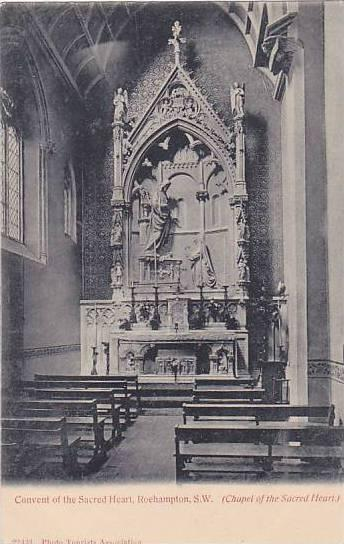 Chapel Of The Sacred Heart, Convent Of The Sacred Heart, Roehampton, S. W., L...