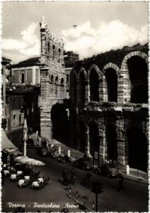CPA VERONA Particolare Arena . ITALY (448797)