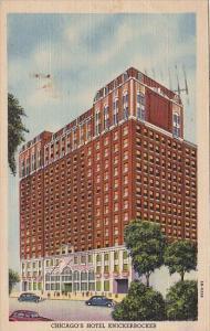 Illinois Chicago's Hotel Knickerbocker 1954