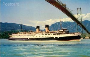 Steamship C.P.R. Princess Patricia, Coast Publishing No. K32