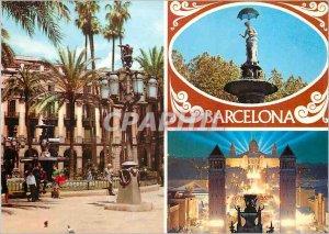 Postcard Modern Barcelona