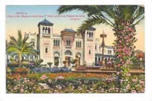 Sevilla, Spain, 00-10s, Exposicion Hispano-Americana. Vista Parcial del Palac...