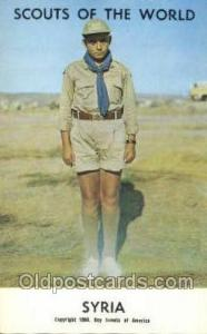 Syria Boy Scouts of America, Scouting Postcard, Post Cards, Copyright 1968  S...