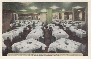 NEW YORK CITY, New York, 1930s; Crystal Bay Dining Room, McGinnis Restaurant,...