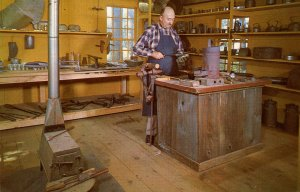 MA - Old Sturbridge Village. Tinsmith