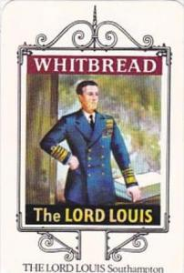 Whitbread Brewers Trade Card Maritime Inn Signs No 1 The Lord Louis Southampton