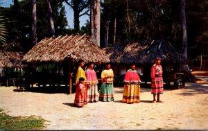 Florida Silver Springs Seminole Indians At Ross Allen's Reptile Institute