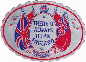 There'll Alway Be an England , Canada,  Label , 30-40s