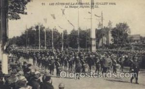 La Musique Anglaise Military, WW I, World War I, Postcard Postcards  La Musiq...