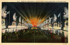 OH - Cleveland. Great Lakes Expo, 1936. Court of Presidents