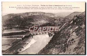 Vallee has Ceou Castelnaud in Sarlat - Old Postcard