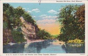 Beautiful Elk River Noel Missouri 1943