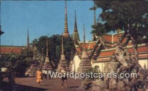 Bangkok Thailand Wat Po, Reclining Buddha Temple  Wat Po, Reclining Buddha Te...