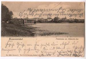 Hessenwinkel, Panorama am Dameritz-See