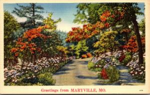 Missouri Greetings From Maryville