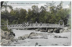 Bridge to Second Sister Island Niagara Falls New York