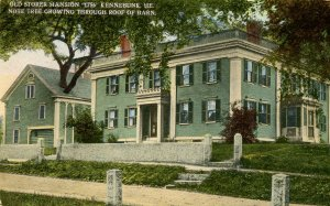ME - Kennebunk. Old Storer Mansion. *NOTE: Tree in barn roof!