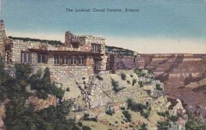 Arizona Grand Canyon The Lookout 1953